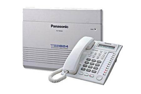 Kết quả hình ảnh cho Lắp Đặt Tổng Đài Panasonic KX-TES824 - 8 Vào 24 Máy Lẻ