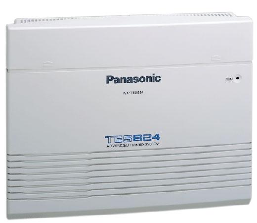 Image result for Lắp Đặt Tổng Đài Panasonic KX-TES824 - 5 vào 16 Máy Lẻ