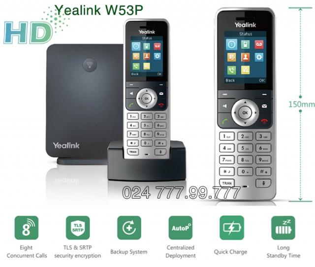 Điện thoại IP DECT Yealink W53P
