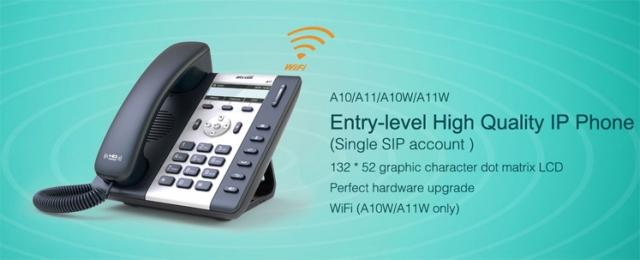 Điện thoại IP ATCOM A68 chất lượng, giá rẻ