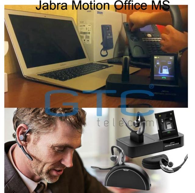 Jabra Motion Office Ms: Tai Nghe Không Dây Jabra Motion Office MS