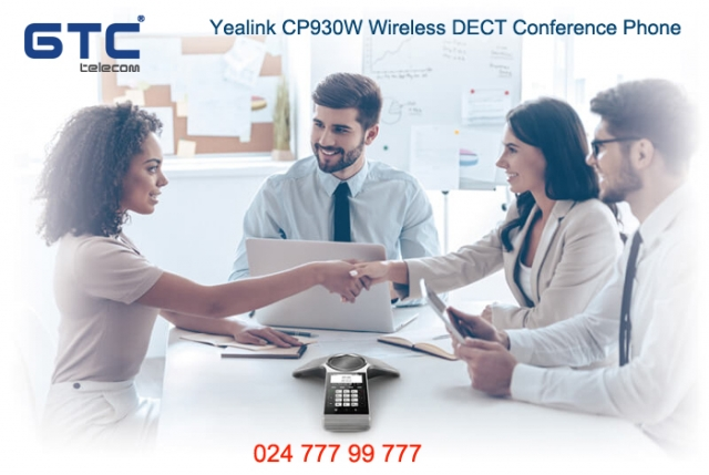 Điện thoại hội nghị Dect Yealink CP930W